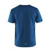 Craft Radiate No.1 Hardloopshirt korte mouwen Heren blauw